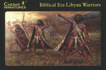 Biblical Libyan Warriors · CAE H022 ·  Caesar Miniatures · 1:72