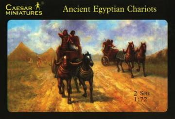 Egyptian Chariots · CAE H024 ·  Caesar Miniatures · 1:72