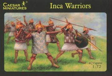 Inca Warrior · CAE H026 ·  Caesar Miniatures · 1:72