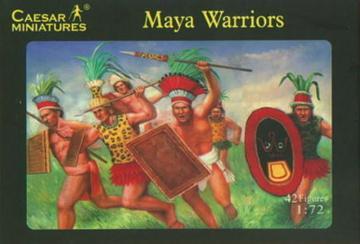 Maya Warrior · CAE H027 ·  Caesar Miniatures · 1:72
