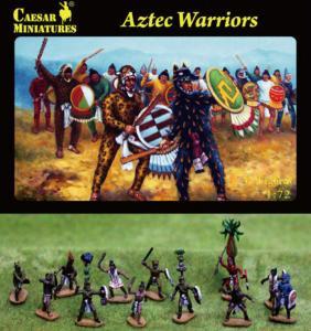 Aztec Warrior · CAE H028 ·  Caesar Miniatures · 1:72