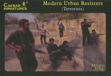 Modern Urban Resisters · CAE H031 ·  Caesar Miniatures · 1:72