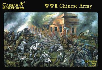 WWII Chinese Army · CAE H036 ·  Caesar Miniatures · 1:72