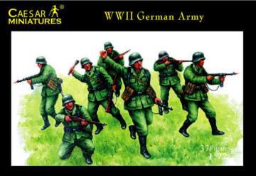 WWII German Army · CAE H037 ·  Caesar Miniatures · 1:72