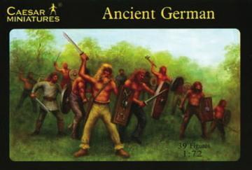 Ancient German Warriors · CAE H040 ·  Caesar Miniatures · 1:72