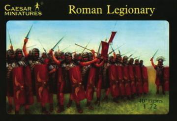 Roman Legionaries · CAE H041 ·  Caesar Miniatures · 1:72