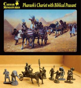 Pharaoh´s Chariot with Biblical Peasant · CAE H042 ·  Caesar Miniatures · 1:72