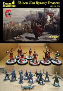 Chinese Han Dynasty Troopers · CAE H043 ·  Caesar Miniatures · 1:72
