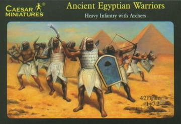 Ancient Egyptian Warriors (New kingdom Era) · CAE H047 ·  Caesar Miniatures · 1:72