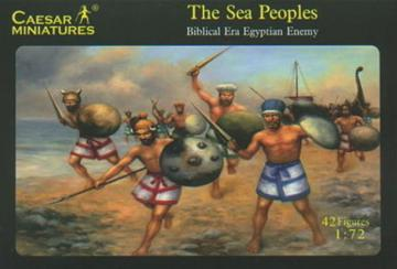 Sea peoples (Egyptian or Hittite Enemy) · CAE H048 ·  Caesar Miniatures · 1:72