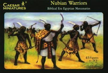 Nubian Warriors (Egypt Enemy or Alley) · CAE H049 ·  Caesar Miniatures · 1:72