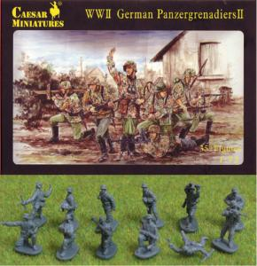 WWII German Panzergrenadiers · CAE H053 ·  Caesar Miniatures · 1:72