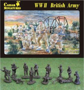 WWII British Army · CAE H055 ·  Caesar Miniatures · 1:72