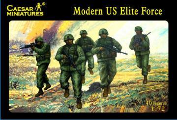 Modern US Elite Force · CAE H058 ·  Caesar Miniatures · 1:72