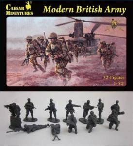 Modern British Army · CAE H060 ·  Caesar Miniatures · 1:72