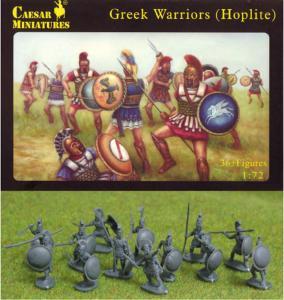Greek Warriors (Hoplite) · CAE H065 ·  Caesar Miniatures · 1:72
