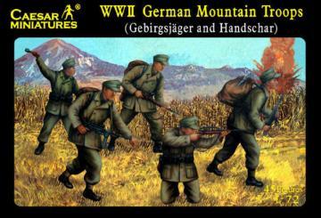 Deutsche Gebirgsjäger · CAE H067 ·  Caesar Miniatures · 1:72