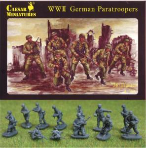 WWII German Paratroopers · CAE H068 ·  Caesar Miniatures · 1:72