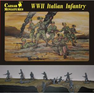 WWII Italian Infantry · CAE H072 ·  Caesar Miniatures · 1:72