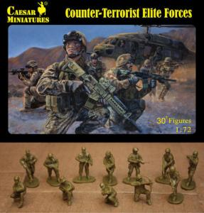 Counter-Terrorist Elite Forces · CAE H082 ·  Caesar Miniatures · 1:72
