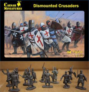 Dismounted Crusaders · CAE H086 ·  Caesar Miniatures · 1:72