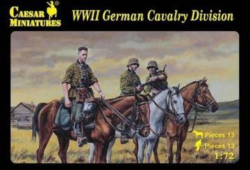 WWII German Cavalry Division · CAE H092 ·  Caesar Miniatures · 1:72
