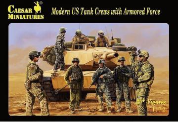 Modern US Tank Crews with Armored · CAE H103 ·  Caesar Miniatures · 1:72