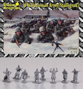 WWII Germans Army (Stalingrad) · CAE HB09 ·  Caesar Miniatures · 1:72