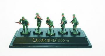 WWII German Army set1 (fertig bemalt) · CAE P806 ·  Caesar Miniatures · 1:72