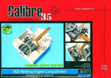 M26 Pershing Engine Compartment · CAL 35017 ·  Calibre · 1:35