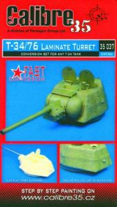 T-34/76 Laminate Turret · CAL 35037 ·  Calibre · 1:35