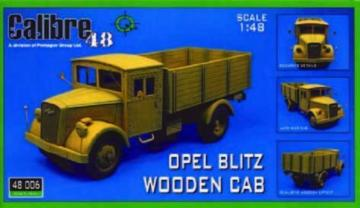 Opel Blitz Holzdach · CAL 48006 ·  Calibre · 1:48