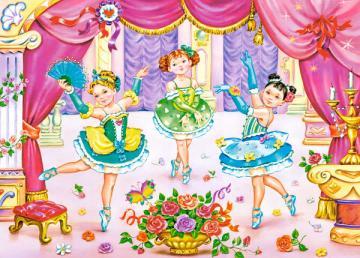 Little Ballerinas, Puzzle 70 Teile · CAS 007059 ·  Castorland