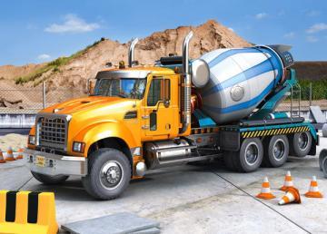Truck Mixer, Puzzle 70 Teile · CAS 007110 ·  Castorland