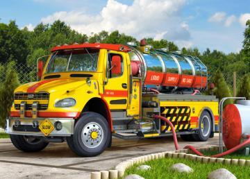 Tanker Truck, Puzzle 70 Teile · CAS 007127 ·  Castorland