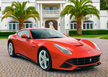 Ferrari F12 Berlinetta, Puzzle 108 Teile · CAS 010011 ·  Castorland