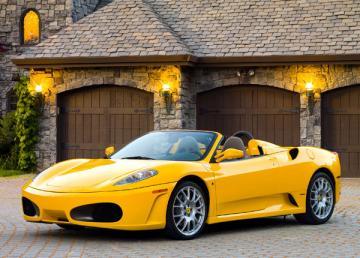 Ferrari F430 Spider, Puzzle 108 Teile · CAS 010035 ·  Castorland