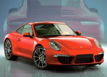 Porsche 911,Puzzle 180 Teile · CAS 018031 ·  Castorland