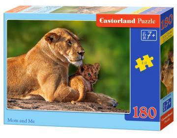 Mom and Me - Puzzle - 180 Teile · CAS 018246 ·  Castorland