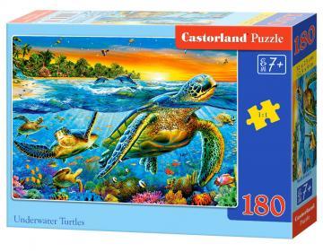 Underwater Turtles - Puzzle - 180 Teile · CAS 018321 ·  Castorland