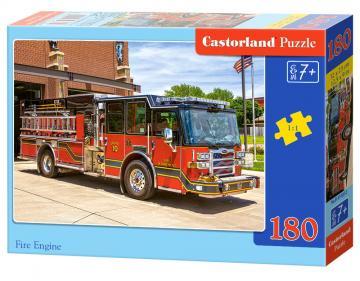 Fire Engine - Puzzle - 180 Teile · CAS 018352 ·  Castorland