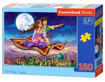 The Magic Carpet - Puzzle - 180 Teile · CAS 018369 ·  Castorland