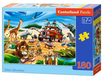 Safari Adventure - Puzzle - 180 Teile · CAS 018390 ·  Castorland