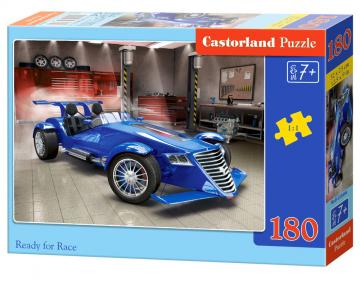 Ready for Race - Puzzle - 180 Teile · CAS 018406 ·  Castorland