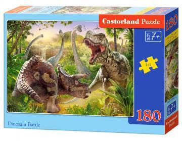 Dinosaur Battle - Puzzle - 180 Teile · CAS 018413 ·  Castorland
