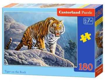 Tiger on the Rock - Puzzle - 180 Teile · CAS 018451 ·  Castorland
