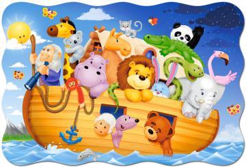 Noah´s Ark,Puzzle 20 Teile maxi · CAS 022451 ·  Castorland