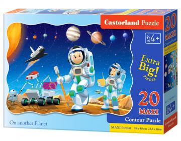 On another Planet - Puzzle - 20 Teile maxi · CAS 023441 ·  Castorland