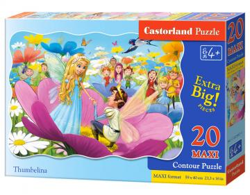 Thumbelina - Puzzle - 20 Teile maxi · CAS 023821 ·  Castorland