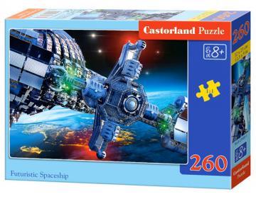 Futuristic Spaceship - Puzzle - 260 Teile · CAS 0274081 ·  Castorland